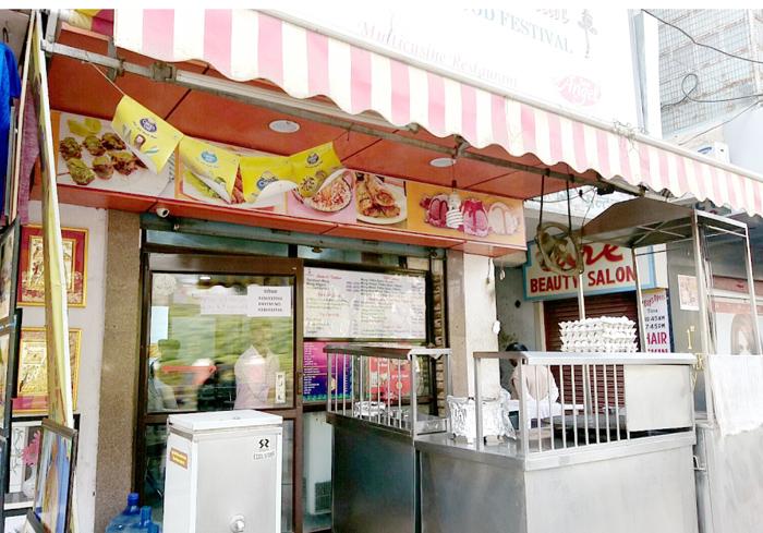 バラナシのレストラン