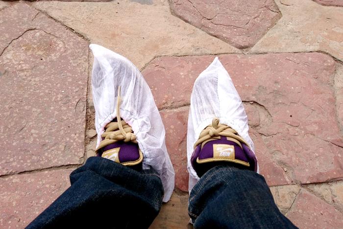 靴のカバー