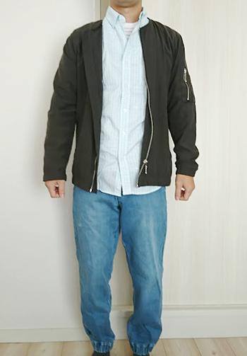 11月~2月の男性の服装