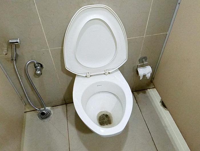 空港のトイレ