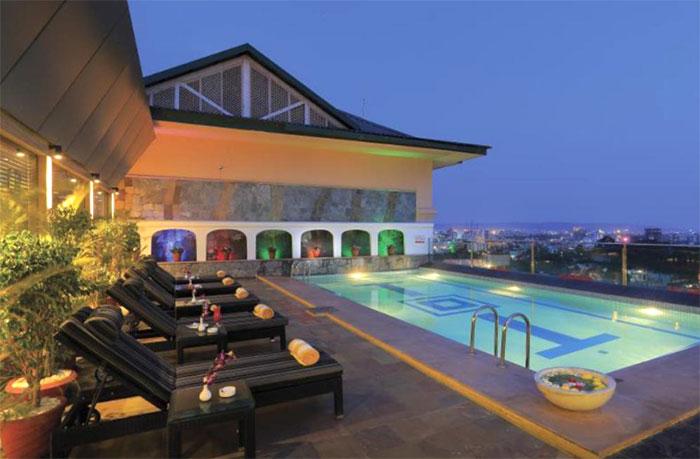 ジャイプールの高級ホテル