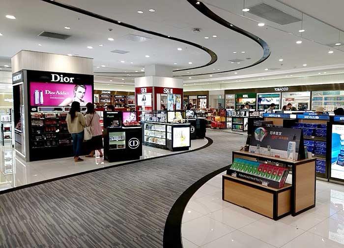 関空第二ターミナルの免税店