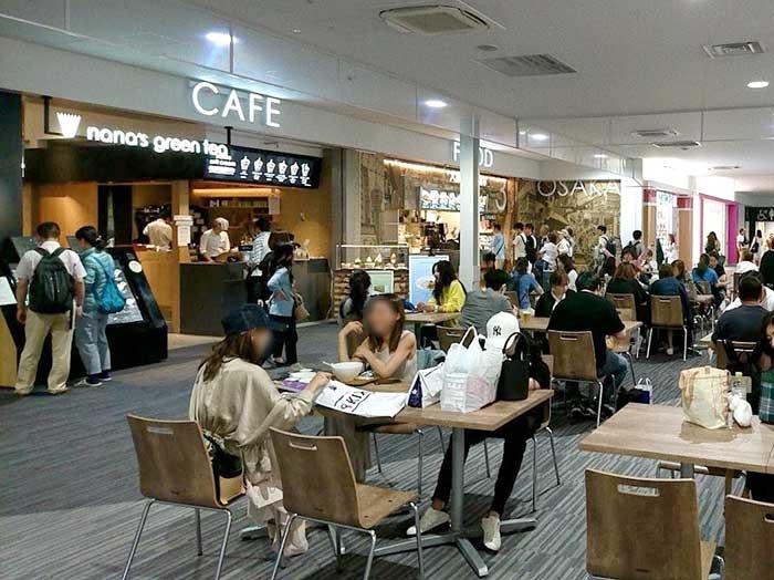 関空第二ターミナルのレストラン