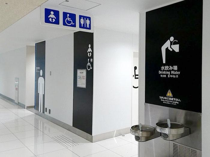 関空第二ターミナルのトイレ