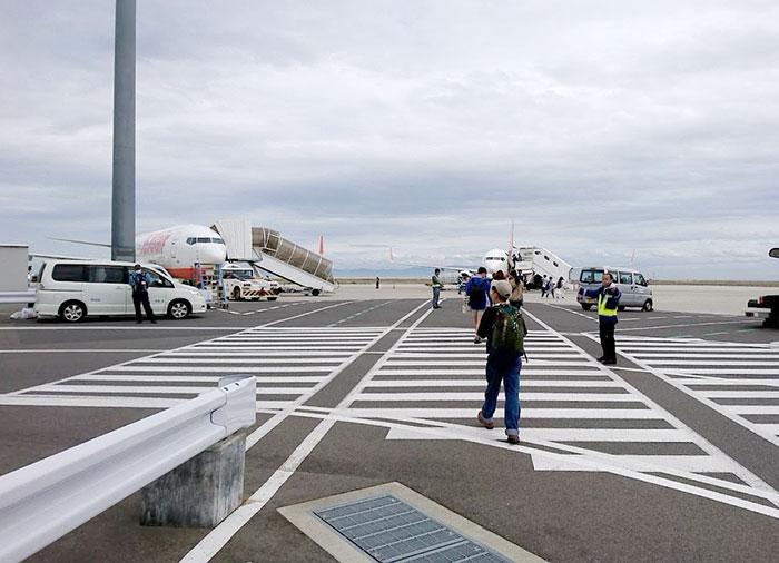 第二ターミナルの搭乗口