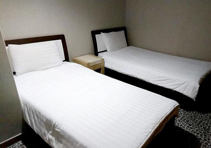 アゴダで予約した部屋