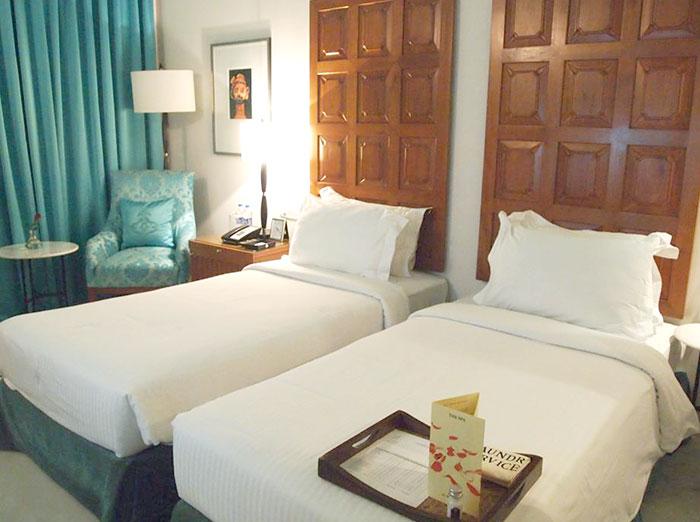 宮殿ホテルの部屋